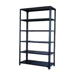 1800 Mm To 3000 Mm Mild Steel and Stainless Steel Skeleton Angle Rack, For Warehouse, 150-200 Kg Per Layer