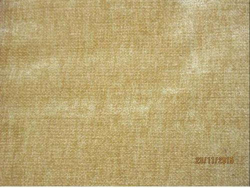 Yellowish Brown Plain Sofa Upholstery Fabric