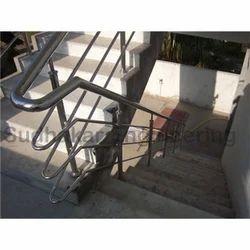 Modern Commercial SS Handrail