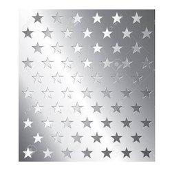 Star Hole Perforated Sheet