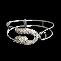 Trendy Gold Diamond Bangle