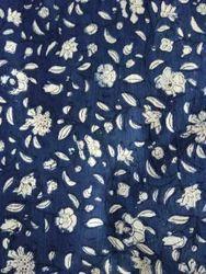 Indigo Dabu Block Print Fabric