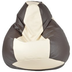 Galaxy Beanbag Xxxl Brown and Ivory