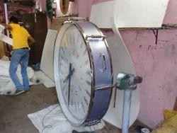 24 Hour Drum Clock