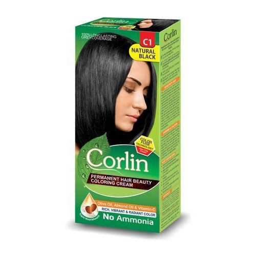 Corlin Natural Black Hair Color