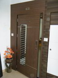 Automatic Wood Safety Door