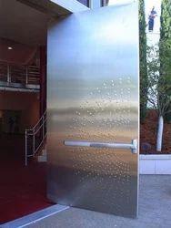 Stainless Steel Safety Door