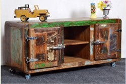 Recycled Wood TV Cabinet - Recycled Wood Furniture