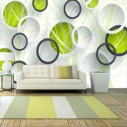 Pvc Printed 3d Wallpaper Rs 120 Square Feet Dizzart Corporation