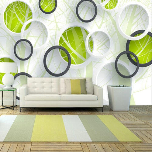 Pvc Printed 3d Wallpaper Rs 120 Square Feet Dizzart