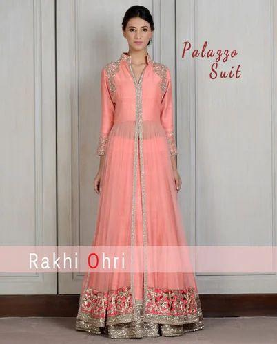 dc1aec0fca Palazzo Suits at Rs 7000 /piece(s) | Plazzo Suit, प्लाज़ो ...