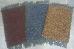 Shaneel And Cotton Multicolor Cotton Foot Mat, Mat Size: 12x18 Inch