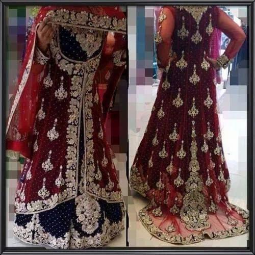 ae88ab8865 Trail Style Bridal Lehenga at Rs 20000  piece