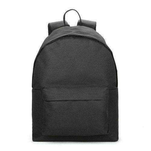 Polyester Plain Black School Bag, Size  Medium, Rs 249  piece   ID ... 7d7b1fe8ee