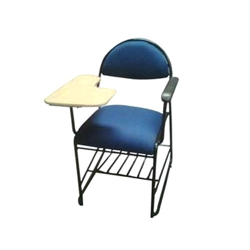 Ss Blue Student Chair With Writing Pad Rs 1800 Unit J