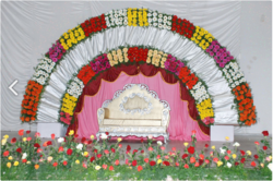 Stage Flower Decoration Services in Ahmedabad
