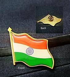 Flag Shape Lapel Pins