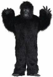 Party Wear Gorilla Mascot