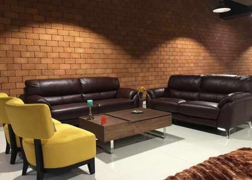 Ordinaire Naples Leather Sofa