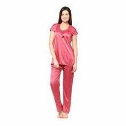 7412504d62 Ladies Satin Night Suit at Rs 130 /60p | Ladies Night Dress | ID ...