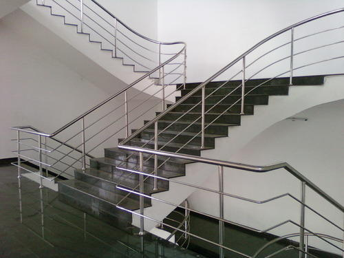 Stainless Steel Railing System Stair Manufacturer From Chennai