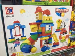 Pipeline Construction Toys