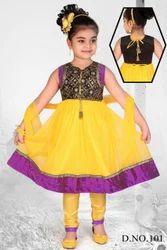 Autumn Kids Anarkali Suit