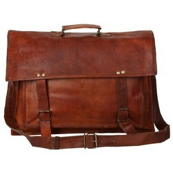 Genuine Leather Mac Book Messenger Bag MESS122