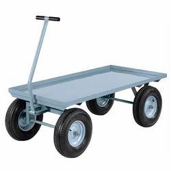 Pneumatic Wheel Platform Truck