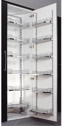 Onyx Stainless Steel Arena Pull Out Kitchen Pantry, Size: 450mmx600 Mm