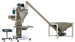 Single Head Powder Filling Machine