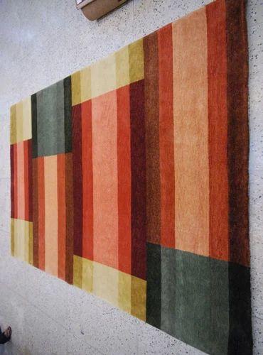 Multicolor labellus Indo Nepalese Carpets, for Home
