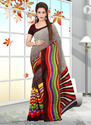 Georgette Printed Saree