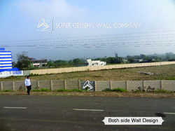 RCC Boundary Wall Compound