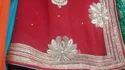 Red Bridal Ladies Sarees