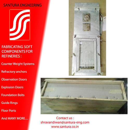 Furnace Observation and Access Doors - Santura Engineering Private