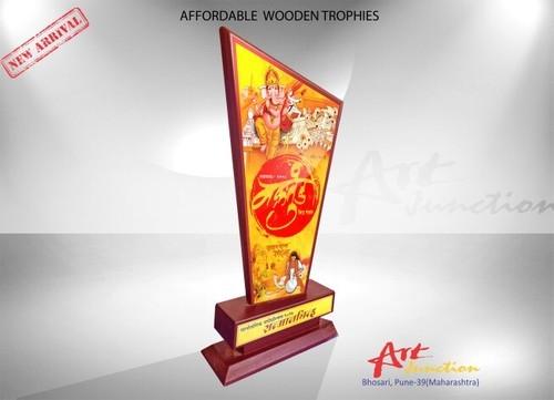 Wood Trophy Lakdi Ki