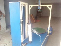 Box Wrapping Machine With Pneumatic Holding