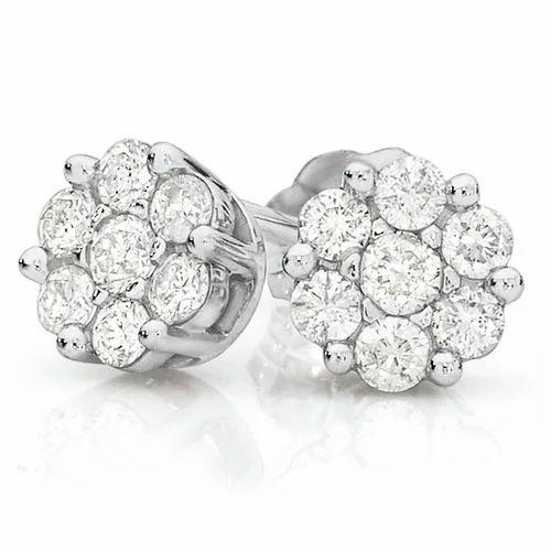 4ecc3a0d12a31 Studded Diamond Earring