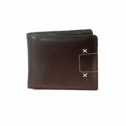 Khadims Brown Tri Fold Wallet