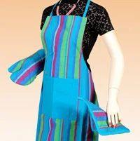 Beach Stripes apron