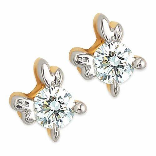 18kt Diamond Erfly Studs