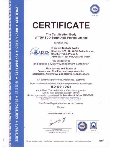 Kaizen Metals India - Manufacturer from Makarpura Gidc, Vadodara ...
