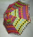Indian Handmade Embroidery paralsol Umbrella Folding Gift Item