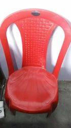 Shoulder Less Plastic Chair