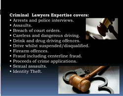 Criminal Lawyer And Consultant