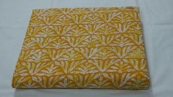 Block Cotton Printed Fabric
