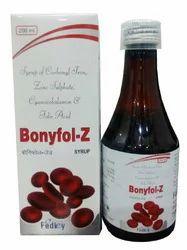 Carbonyl Iron Zinc Sulphate Vit.B12 Folic Acid Syrup