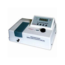 Microprocessor UV Visible Spectrophotometer