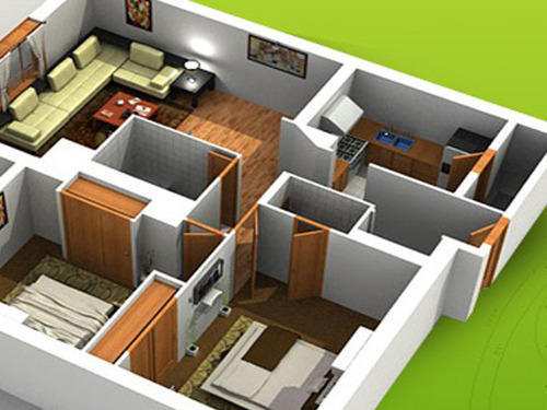 Flat interior design images home design for Flat interior ideas